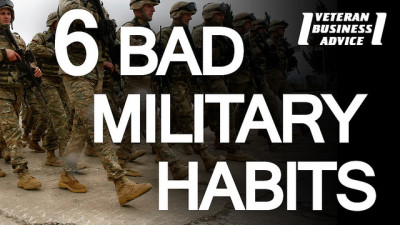 6 Bad Military Habits